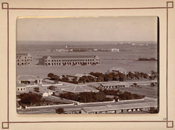 Bird's eye view (with Napier Barracks) [Karachi]. 28